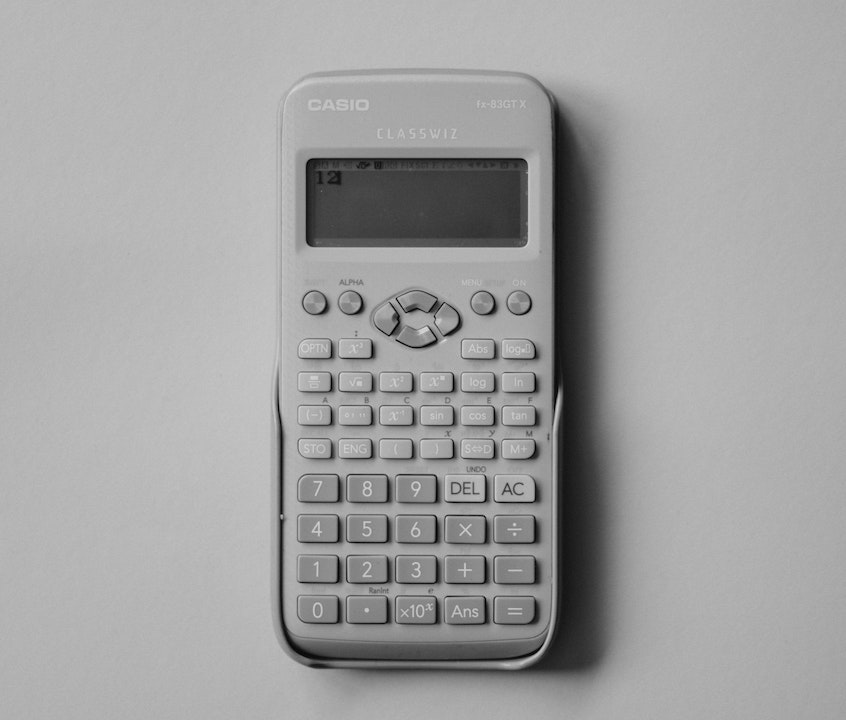 old-school-casio-calculator-using-internal-rate-of-return