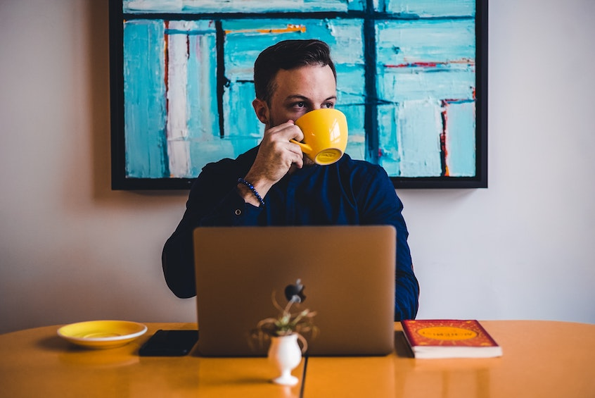 man-drinking-coffee-while-working-why-diversification-is-important