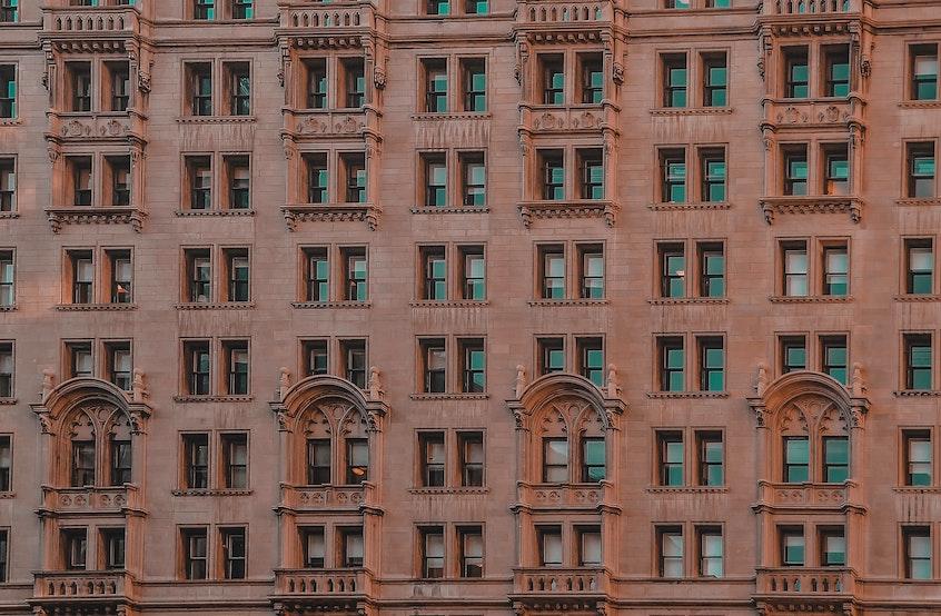 art-decco-building-facade-passive-real-estate-investing