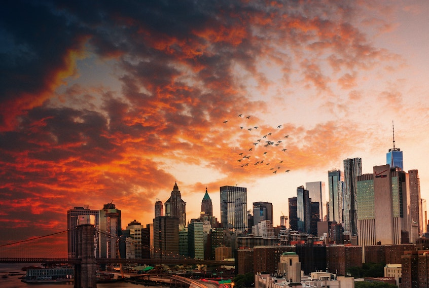 new-york-city-sunset-commercial-real-estate-