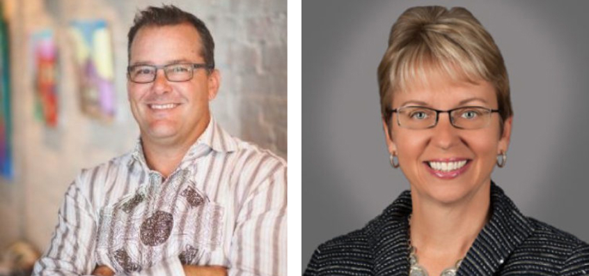 Larry Curran, Managing Director of Private Business Credit, and Barbara Anderson, Senior Director & Head of Underwriting for Private Business Credit.