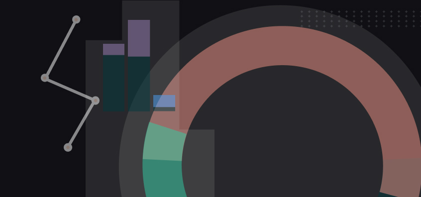Abstract art to illustrate investment concepts and trends