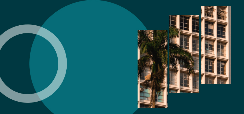 Abstract banner showing Miami, site of pre-developing finance deal on Yieldstreet investment platform